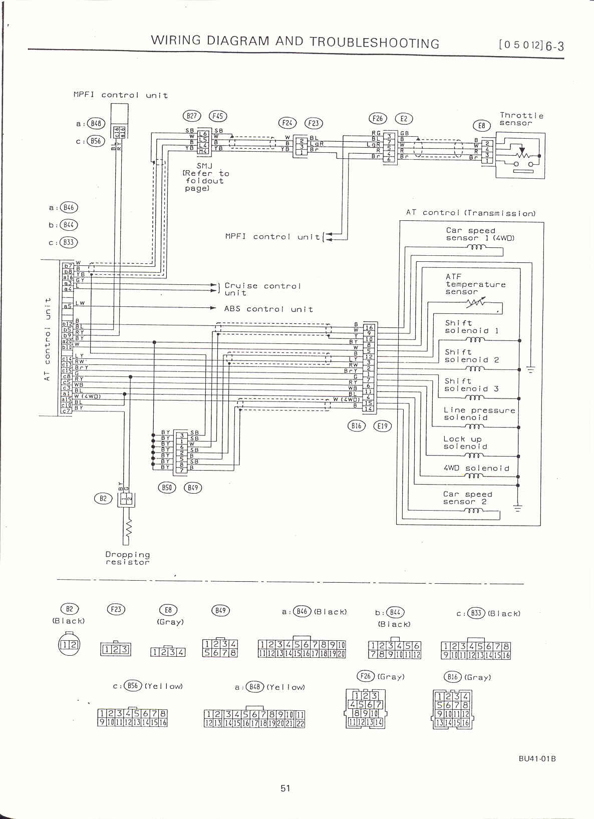Surrealmirage Subaru Legacy Swap Electrical Info Notes 1990 Engine Diagram At Control Page 2