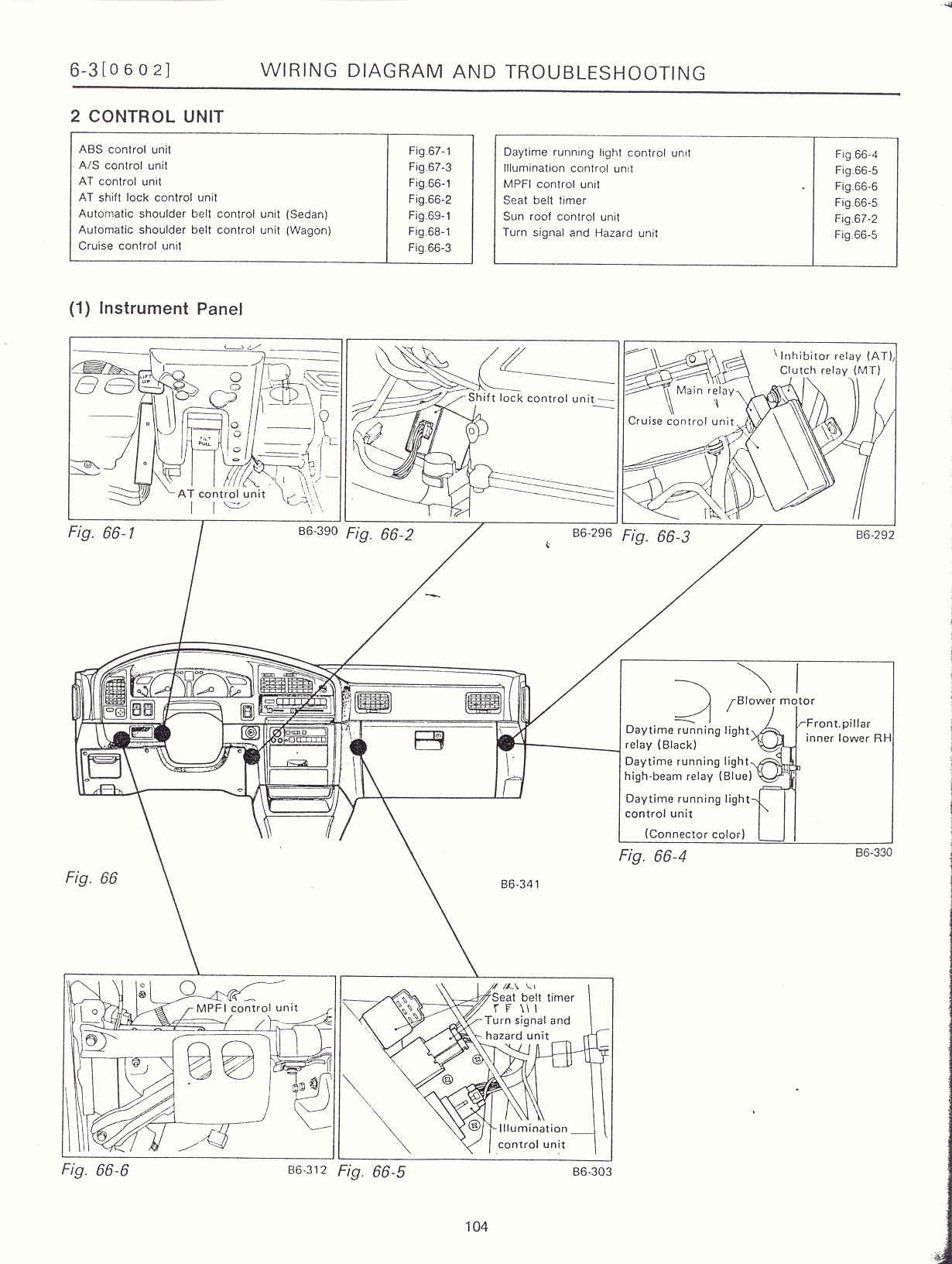 Surrealmirage Subaru Legacy Swap Electrical Info Notes 1990 Engine Diagram Instrument Panel